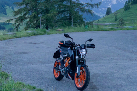 KTM Duke 390 Cruizador