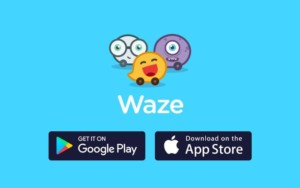 Waze Navigation Application GPS Smartphone Cruizador