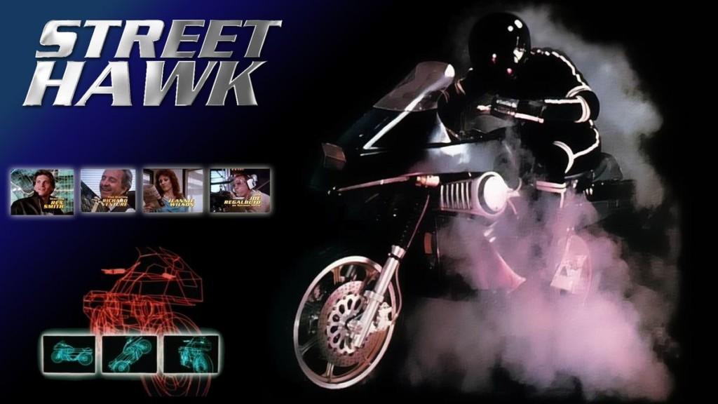 Tonnerre mécanique, Street Hawk, Honda, Knight Rider, Airwolf, Supercopter,