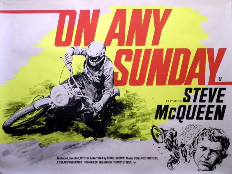 On Any Sunday Documentary Cruizador Steve McQueen King of Cool Motorcycle Moto