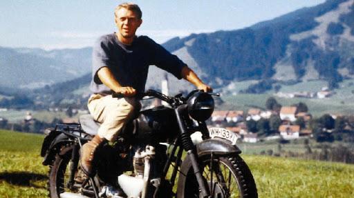 The Great Escape, The Movie, Cruizador, Steve McQueen, Triumph,