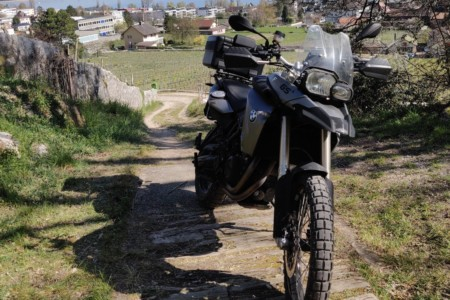 BMW F800 GS Cruizador