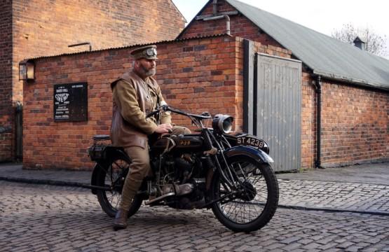 Oldtimer Motorcycle Cruizador