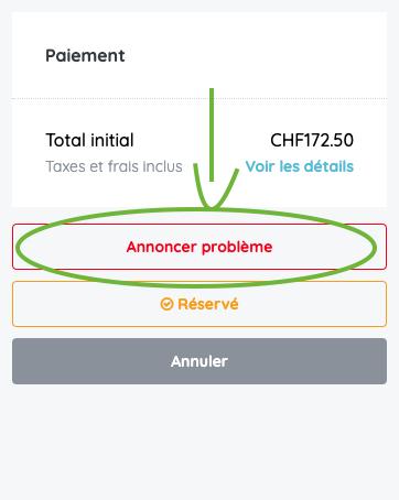 Cruizador_Annoncer problème_FR
