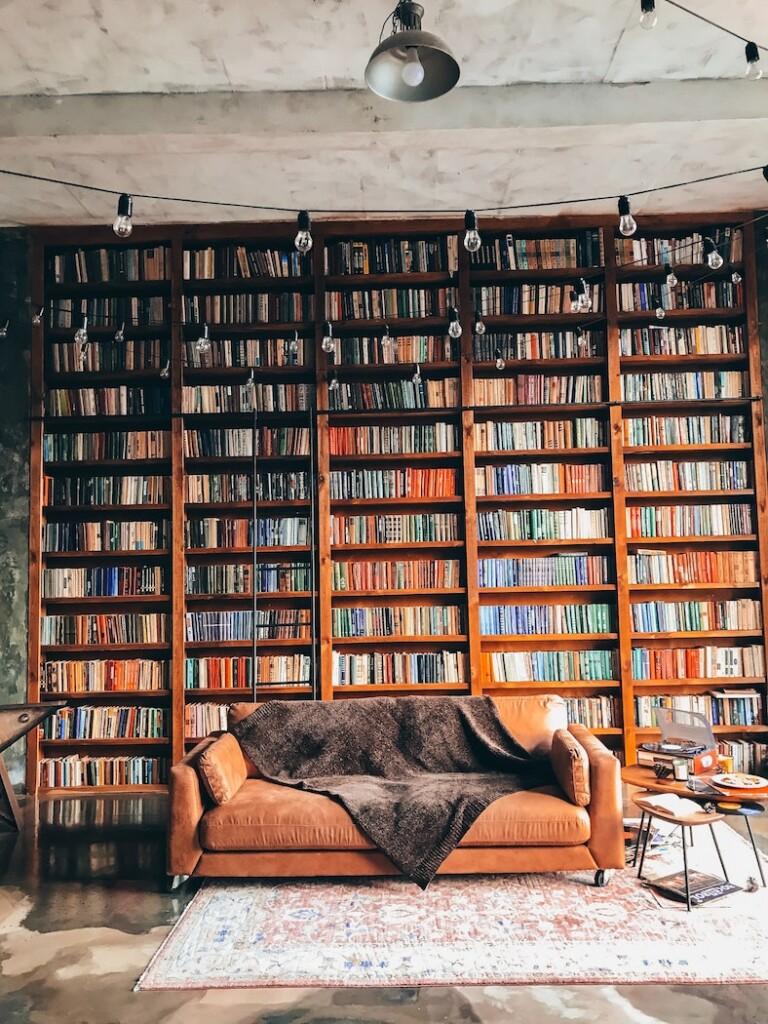 Bookshelf Cruizador ©Mariia Zakatiura