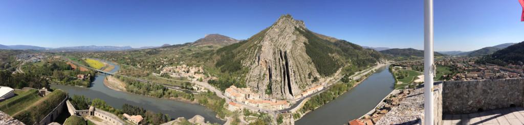 Vue depuis la Citadelle de Sisteron Cruizador