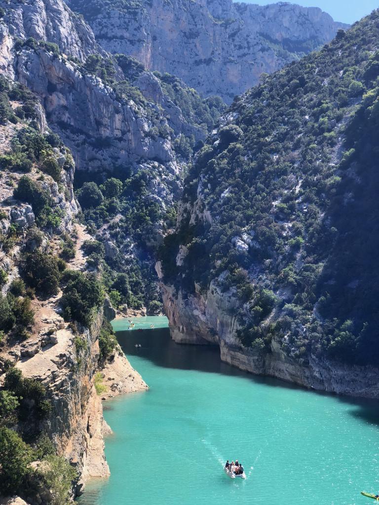 Pont du Galetas Gorges du Verdon France Cruizador