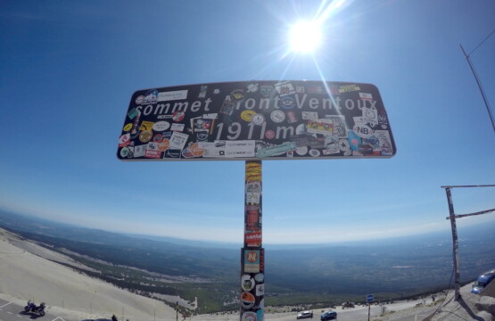 Top of the Mont-Ventoux France