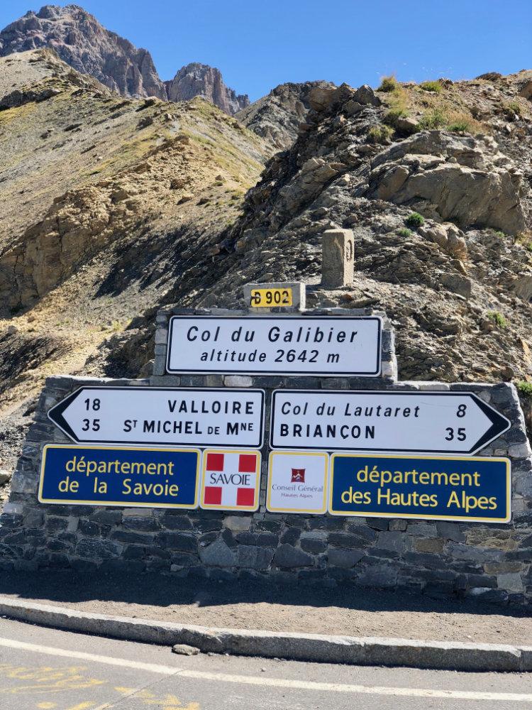 Cruizador Col Galibier Tour de France Roadtrip Motorbike Moto Motorrad France Frankreich RDGA Route des Grandes Alpes Touring