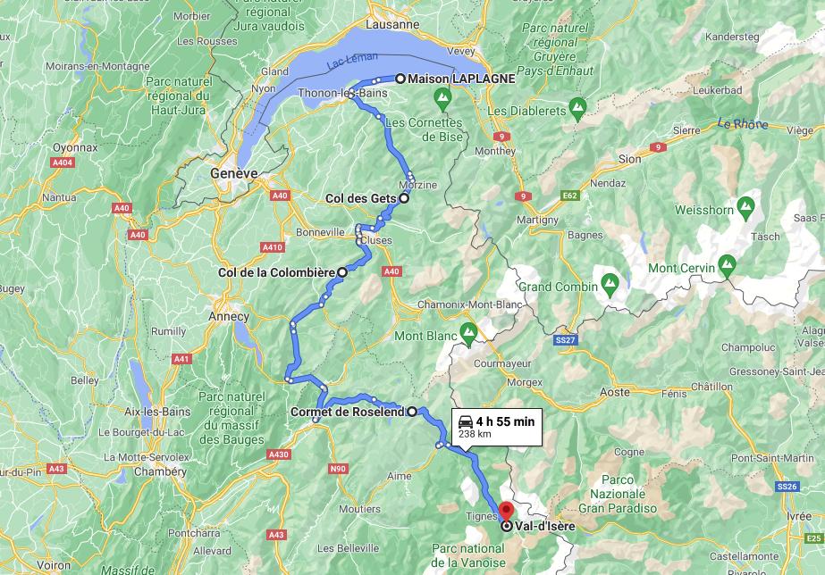 Cruizador Route des Grandes Alpes RDGA Jour 1