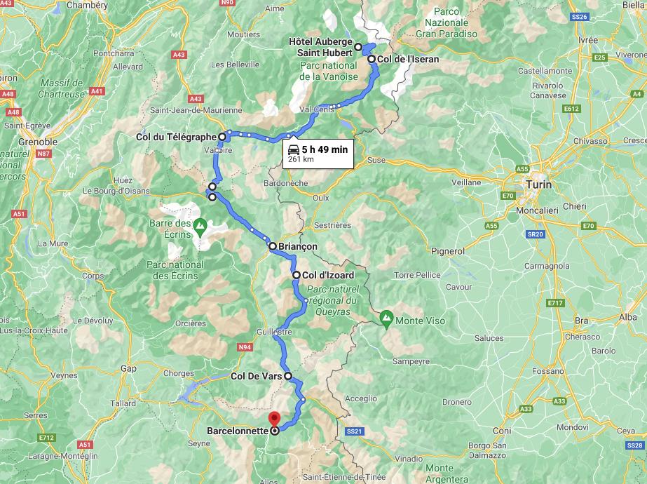 Cruizador Route des Grandes Alpes Jour 2